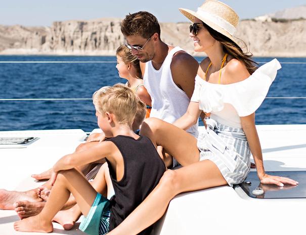 avanti sailing trips family