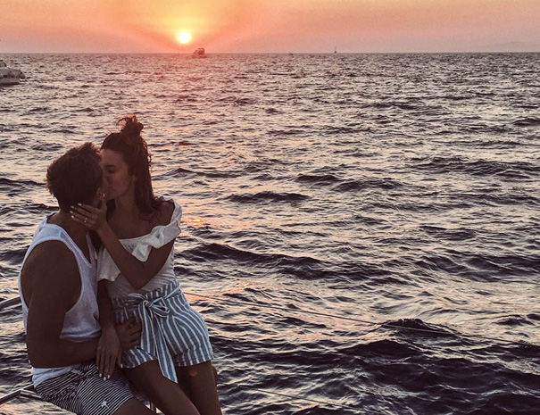 avanti sailing trips romance