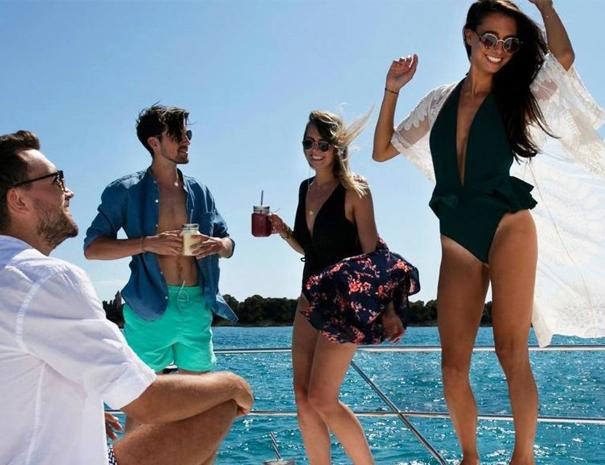 sailing trip crete bachelor party