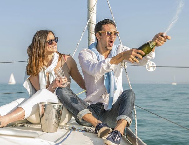 sailing trip crete couple birthday
